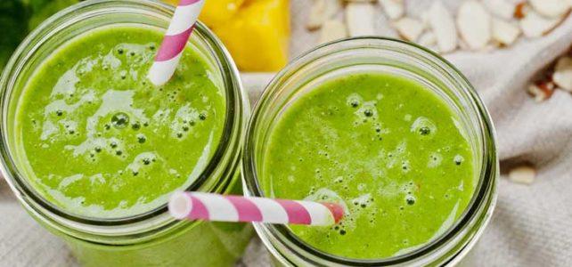 Cómo preparar un zumo verde antioxidante