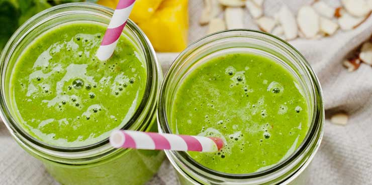 Cómo preparar un zumo verde antioxidante | Receta saludable
