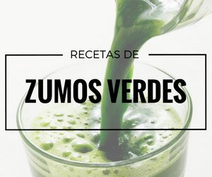 zumos verdes o jugos