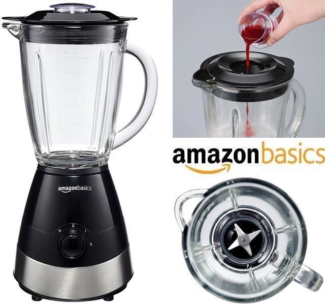 Batidora de vaso AmazonBasics