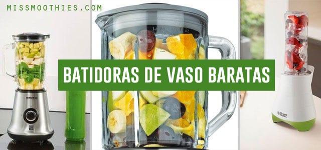 Batidoras de Vaso Baratas | Guía Comparativa 2020