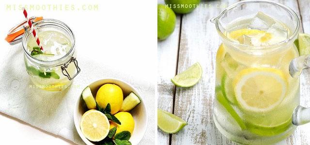 Agua Detox – 3 Recetas Caseras para Limpiar tu Cuerpo y Adelgazar