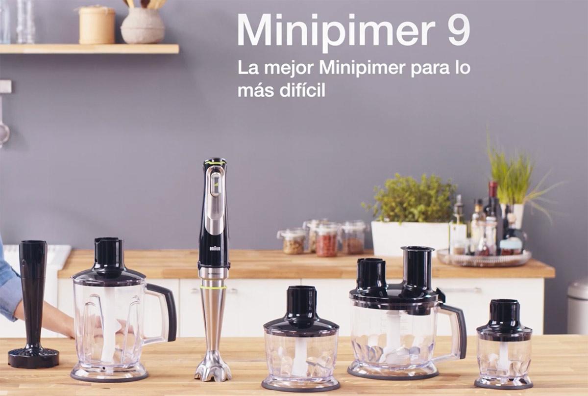 la mejor batidora de mano del mercado: Braun Minipimer 9