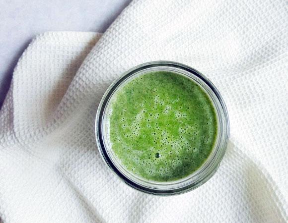 batido verde diurético