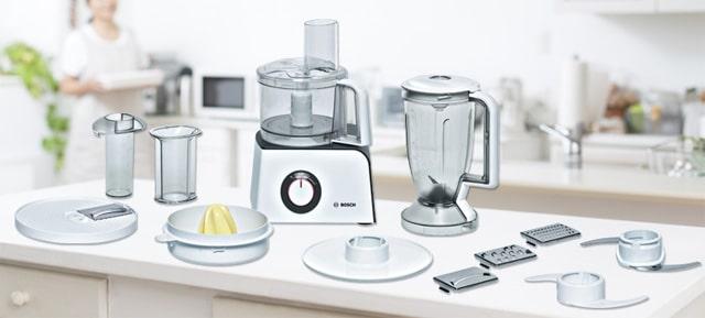 Procesador de alimentos con accesorios