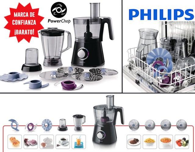 Philips HR7762/90 - Robot de cocina Viva Collection