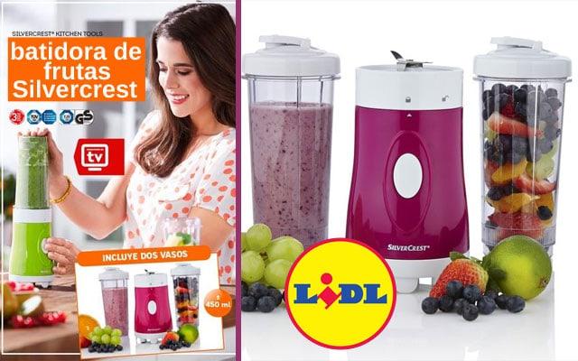 Batidora de frutas Silvercrest del LIDL