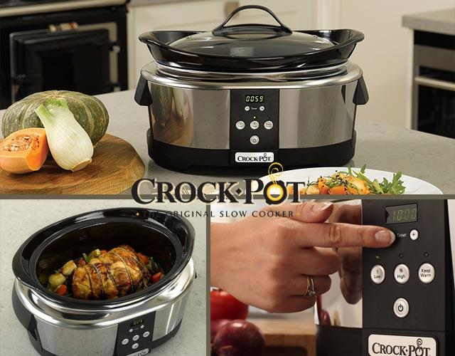 Crock-Pot SCCPBPP605 - Olla de cocción lenta 4,7 litros de capacidad