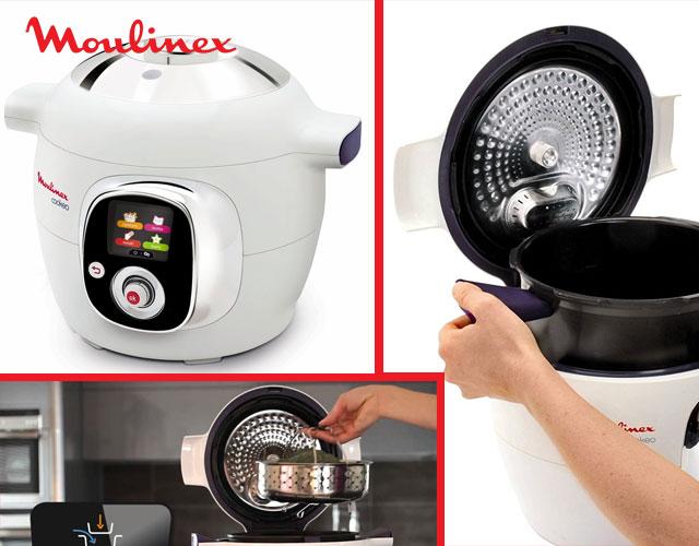 Moulinex Cookeo CE704110 - Robot de cocina con 6 litros de capacidad