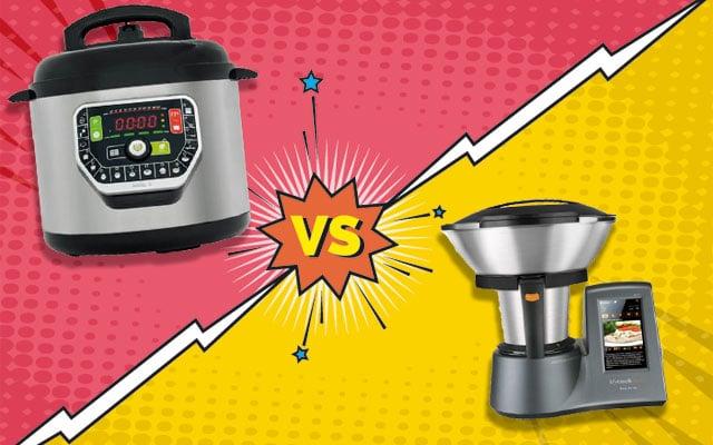 olla programable vs robot de cocina
