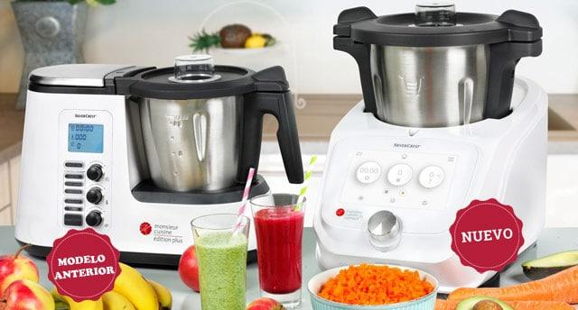 robot de cocina monsieur plus vs connect