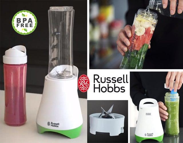 Russell Hobbs Horizon Mix & Go Boost - Batidora de Vaso Individual