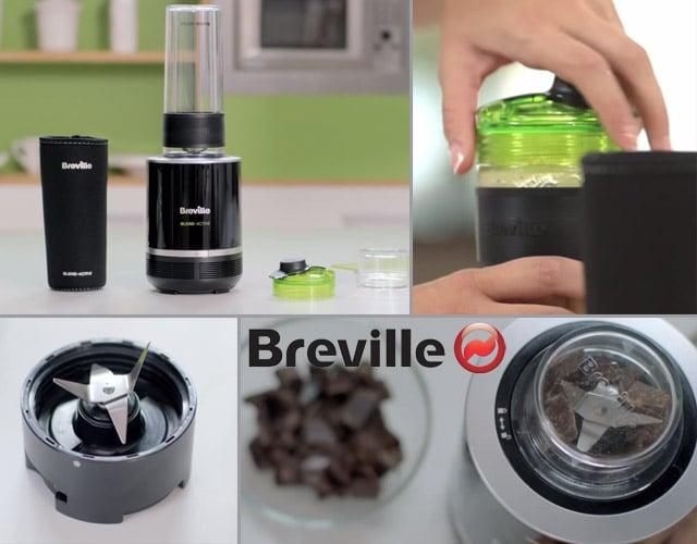 Breville VBL120X - Batidora de vaso pequeña