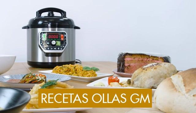 qué recetas cocinar o preparar con una olla GM