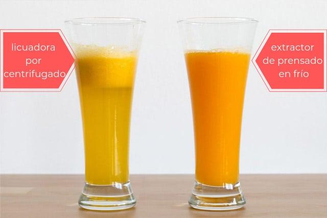 zumos con licuadora