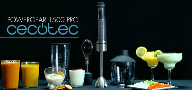Batidora de Mano Cecotec PowerGear 1500 Pro - Opiniones y Precio