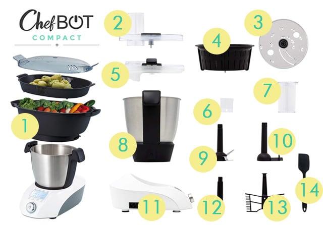 accesorios Ikohs ChefBOT