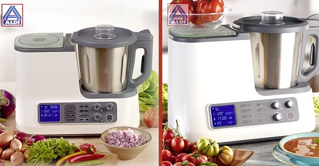 robot de cocina Aldi Quigg