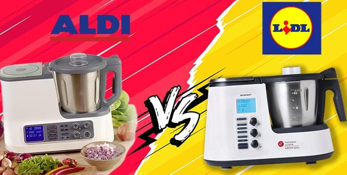 Robot de cocina Lidl vs Aldi