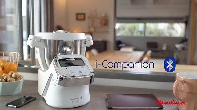Moulinex i-Companion HF9001 - Robot de cocina Bluetooth