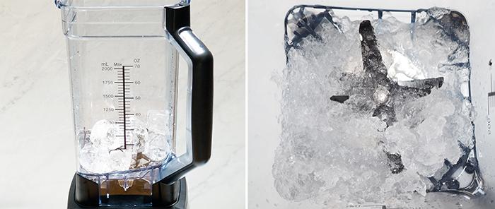 pulverizar hielo