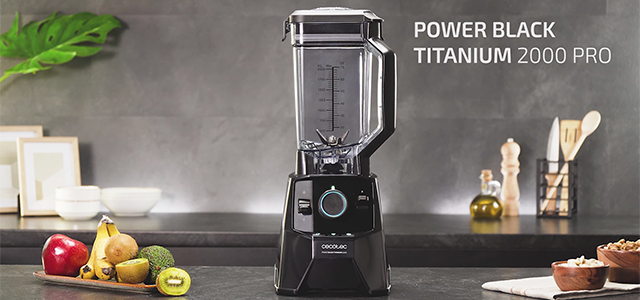 batidora de vaso Cecotec Power Black Titanium 2000 Pro opiniones