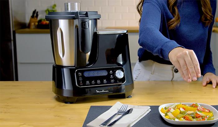 Moulinex ClickChef HF4SPR30 - Robot de cocina multifunción 3.6 l