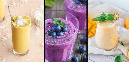 27 deliciosos batidos de frutas caseros con combinaciones para todos los gustos